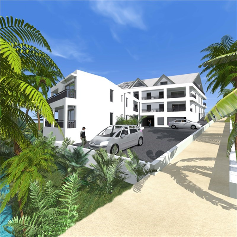 Investment property apartment Baie mahault 170 400€ - Picture 1