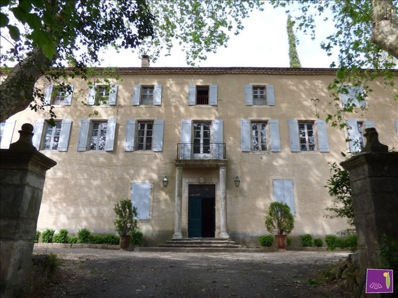 Vente de prestige maison / villa Uzes 2100000€ - Photo 1