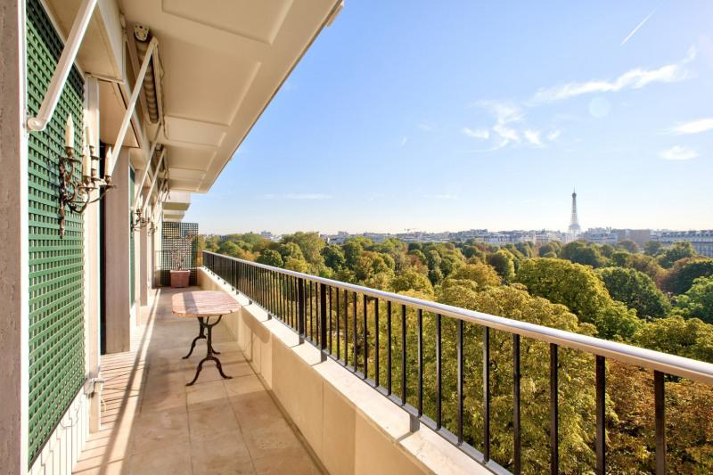 Paris XVIe - Vue jardins du Ranelagh