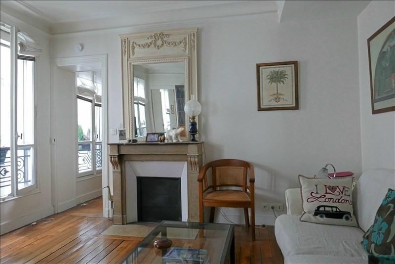 Vente appartement Paris 17ème 449280€ - Photo 2
