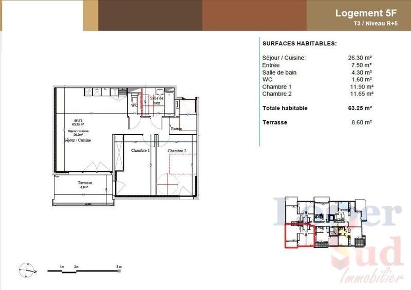 Vente appartement Montpellier 279000€ - Photo 5