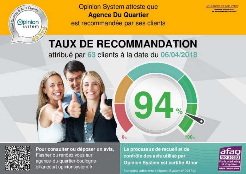 Locação estacionamento Boulogne-billancourt 95€ CC - Fotografia 2