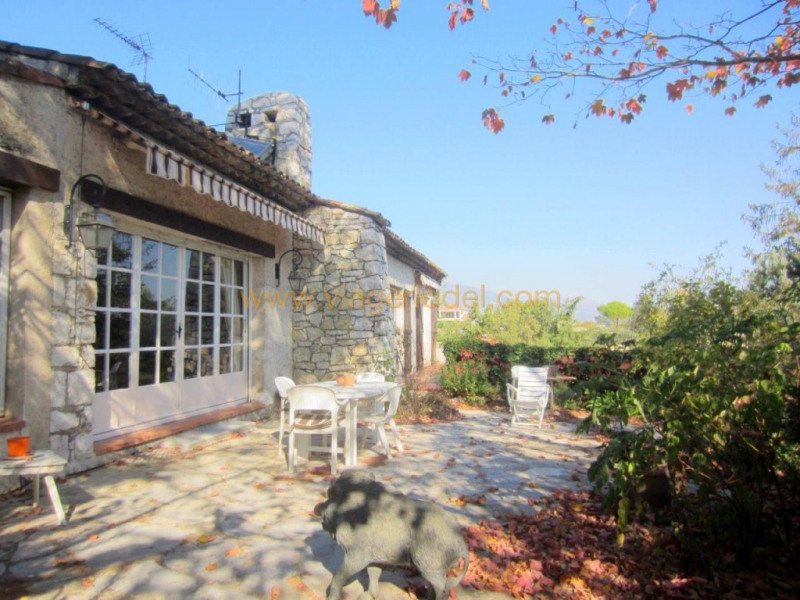 Viager maison / villa Valbonne 498 000€ - Photo 1
