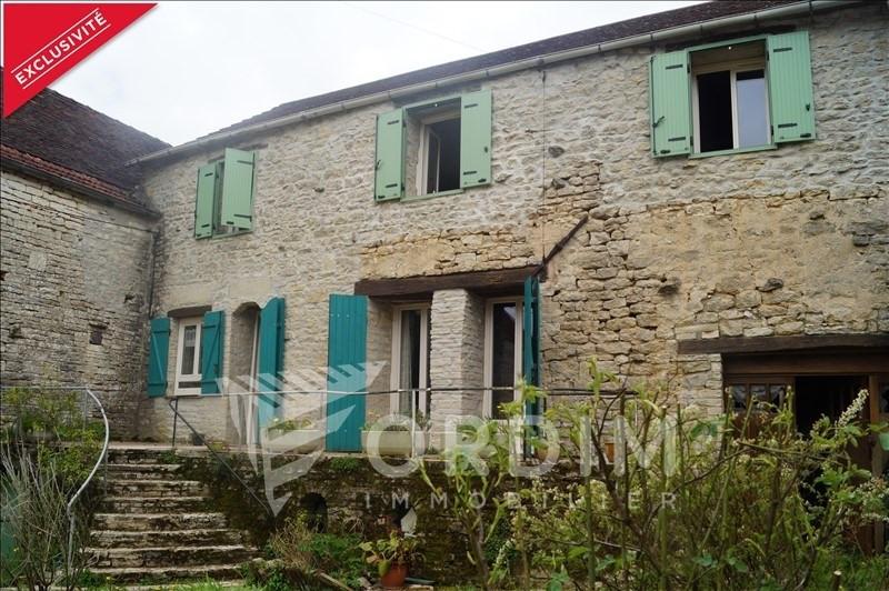 Vente maison / villa Cruzy le chatel 99000€ - Photo 1