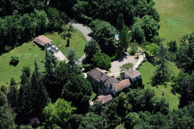 Deluxe sale house / villa Laroque timbaut 549000€ - Picture 1
