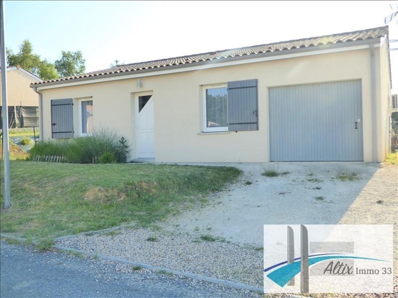 Vente maison / villa Petit palais et cornemps 138000€ - Photo 2