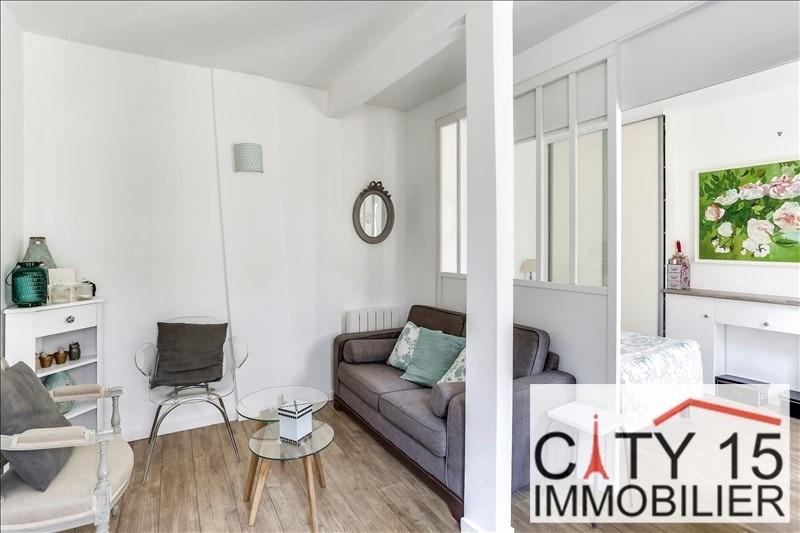 Verkoop  appartement Paris 15ème 257000€ - Foto 9