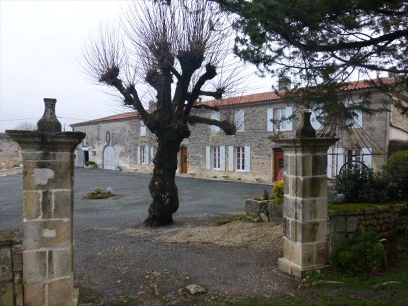 Deluxe sale house / villa Berneuil 525000€ - Picture 1