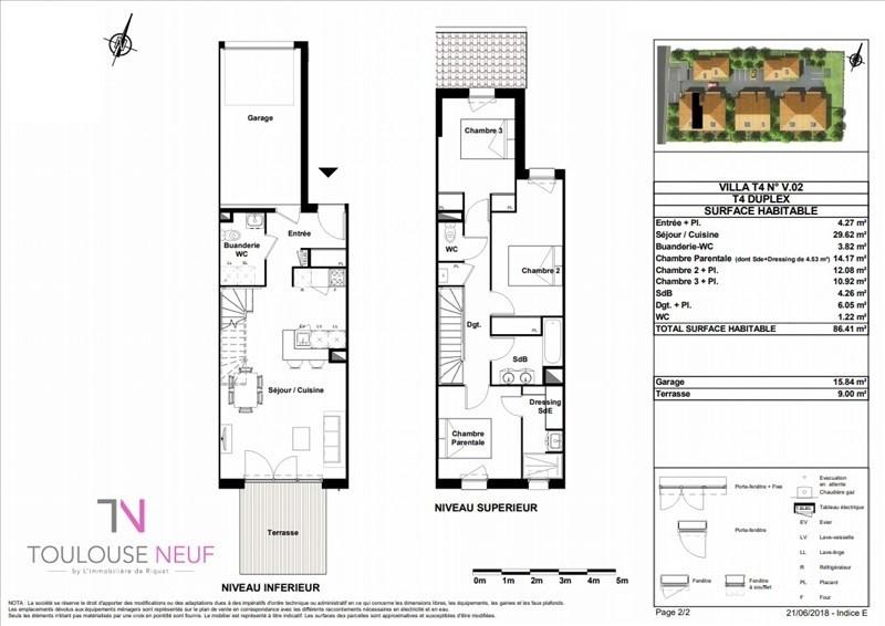 Vente maison / villa Beauzelle 277900€ - Photo 3