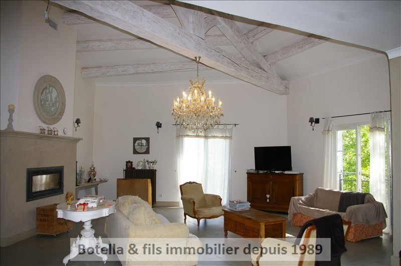 Vente maison / villa Goudargues 540 000€ - Photo 2