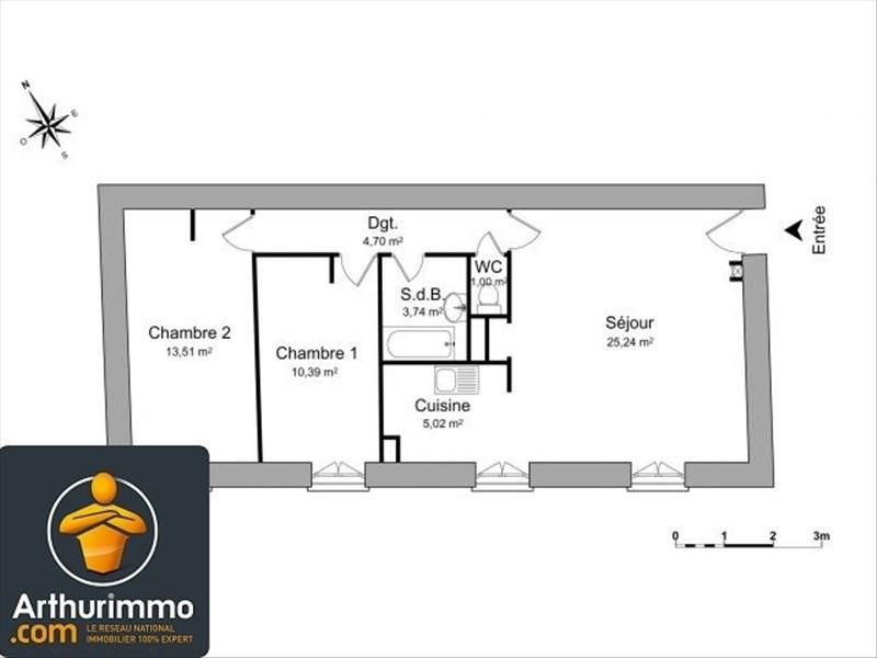 Location appartement Anse 599€ CC - Photo 2