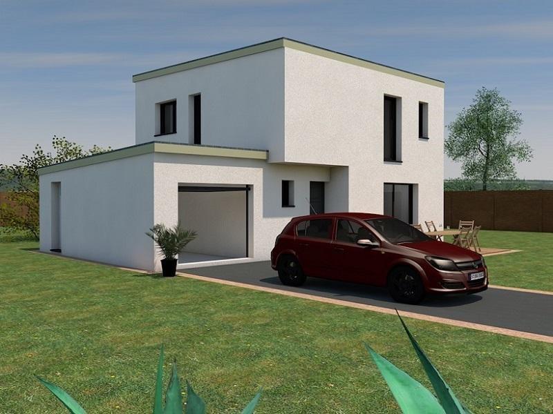 Maison  4 pièces + Terrain 490 m² Vertou (44120) par ESPACE HABITAT
