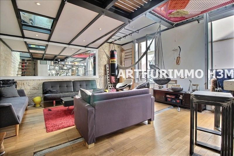 Vente appartement Paris 11ème 845000€ - Photo 1