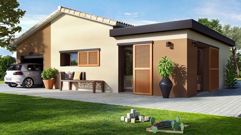 Maison  4 pièces + Terrain 470 m² Fargues-Saint-Hilaire par ALPHA CONSTRUCTIONS