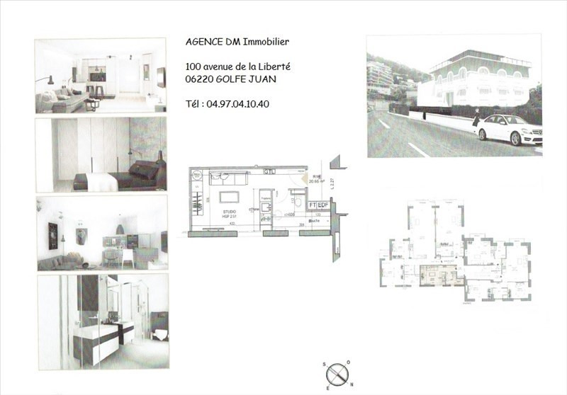 Investment property apartment Nice 98 000€ - Picture 2