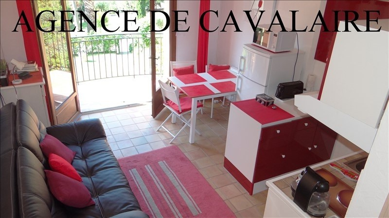 Investment property apartment Cavalaire 169 000€ - Picture 1