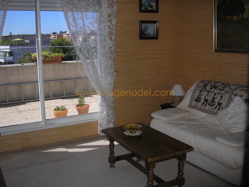 Verkauf auf rentenbasis wohnung Montpellier 150000€ - Fotografie 4