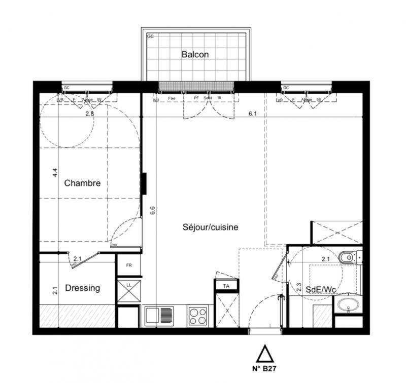 Vente appartement Plaisir 245000€ - Photo 1