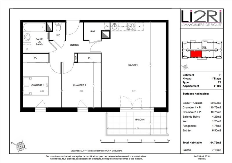 Vente appartement Toulouse 216000€ - Photo 3