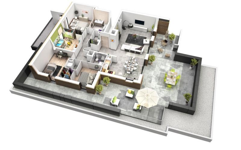 Vente de prestige appartement St julien en genevois 730000€ - Photo 2