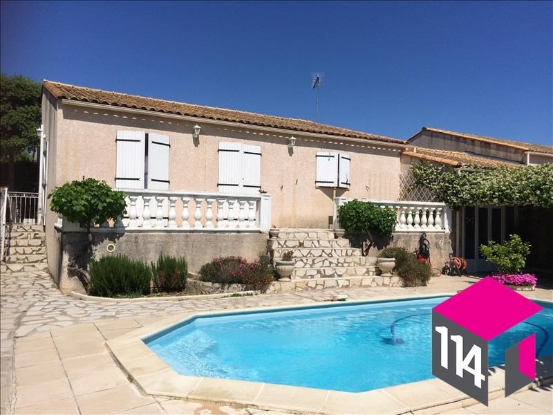 Sale house / villa Saint-brès 353 000€ - Picture 1