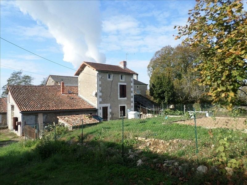 Vente maison / villa Civaux 126000€ - Photo 1