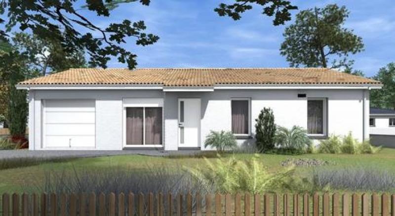 Maison  4 pièces + Terrain 2173 m² Loupes par TANAIS HABITAT