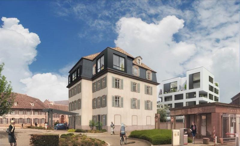 La cour des haras programme immobilier neuf strasbourg for Immobilier strasbourg neuf