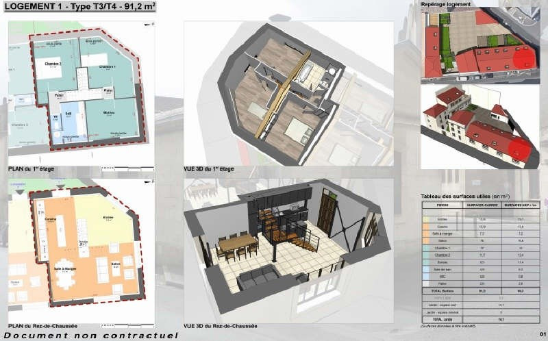 Vente appartement Niort 201400€ - Photo 1