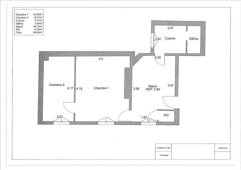 Sale apartment Paris 11ème 362000€ - Picture 3