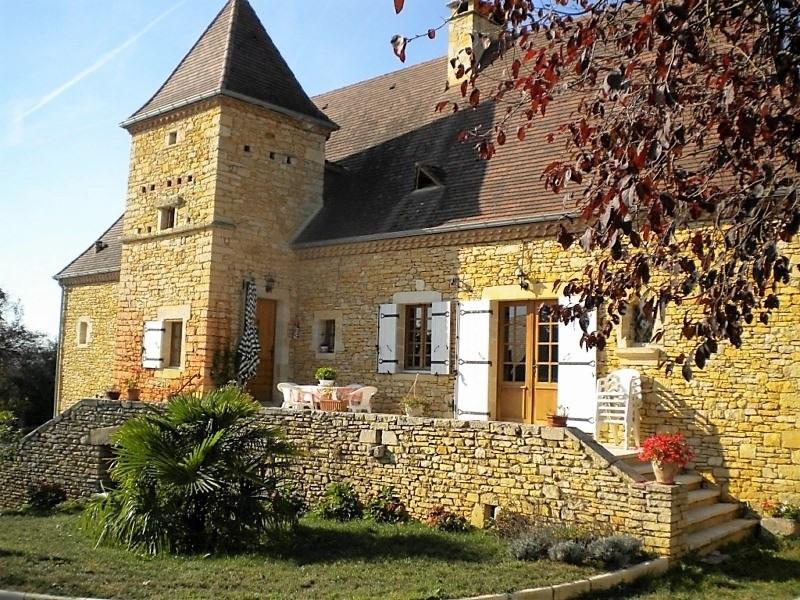 Périgourdine ancienne et 3 appartements, piscine et jardin Uchacq-et-Parentis