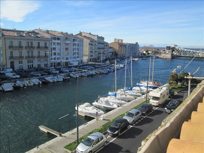 Vente appartement Sete 211 000€ - Photo 1