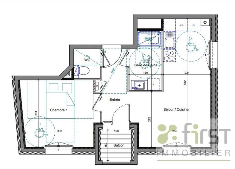 Vente appartement Annemasse 188000€ - Photo 2