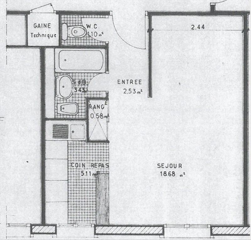 Location appartement Bures sur yvette 668€ CC - Photo 2