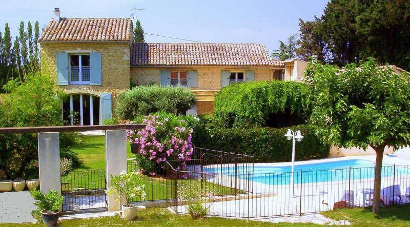 Deluxe sale house / villa Sarrians 570 000€ - Picture 1