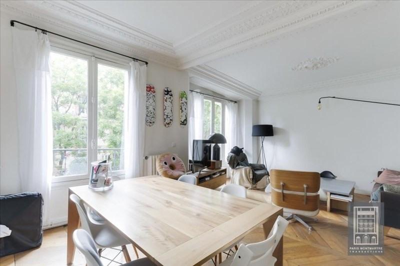 Sale apartment Paris 18ème 866000€ - Picture 2