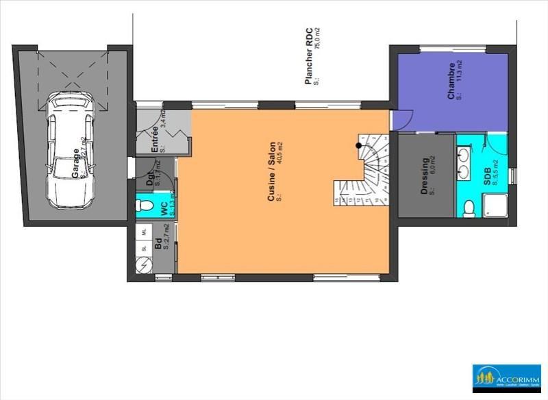 Vente maison / villa St pierre de chandieu 480000€ - Photo 3