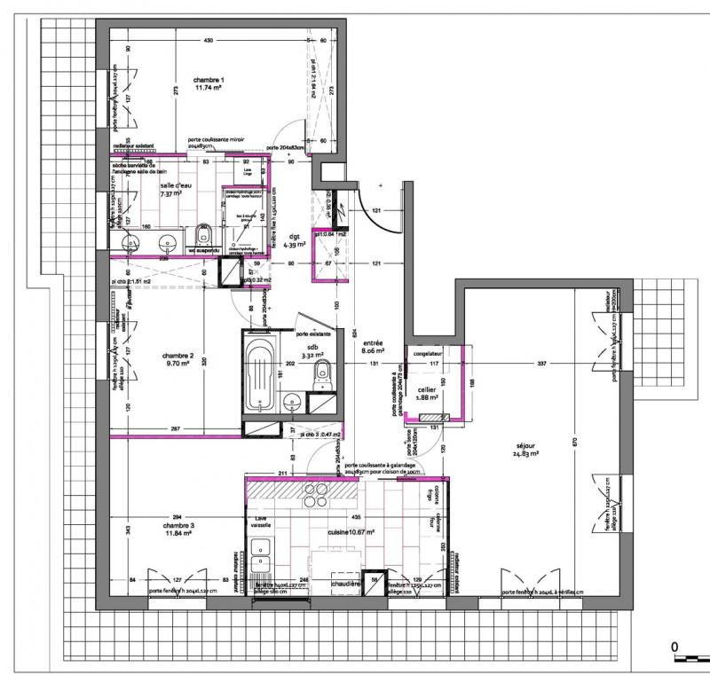 Vente appartement Châtillon 599000€ - Photo 11