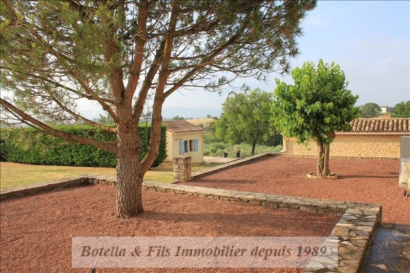 Verkauf von luxusobjekt haus Barjac 695000€ - Fotografie 12