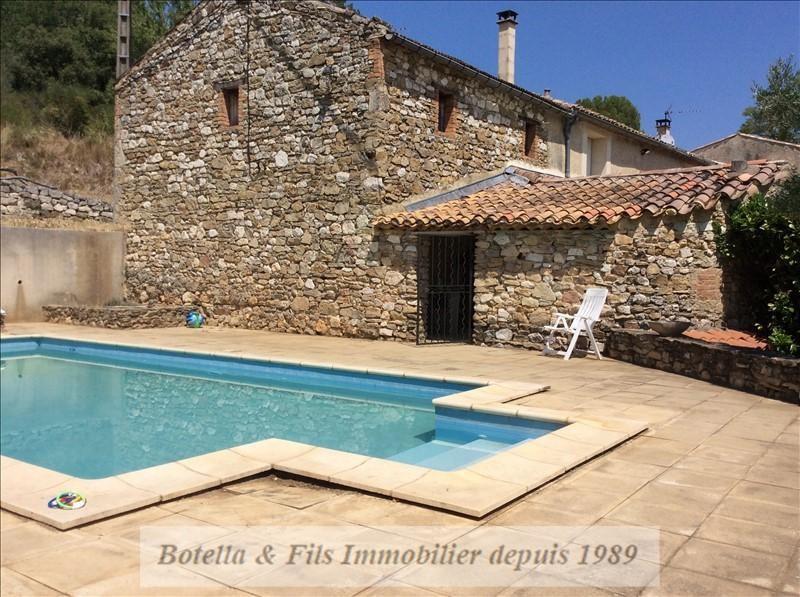 Vendita casa Goudargues 423500€ - Fotografia 1