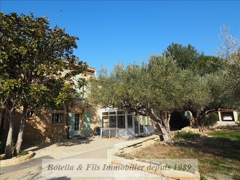 Deluxe sale house / villa Uzes 650 000€ - Picture 1