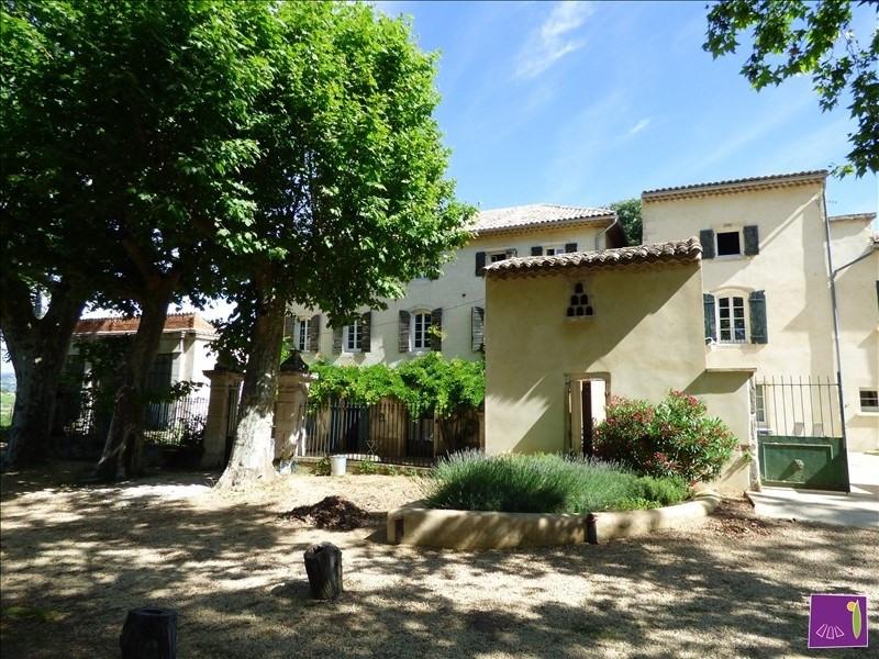 Vente de prestige maison / villa Goudargues 1595000€ - Photo 1