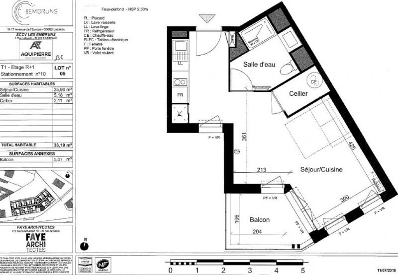 Vente appartement Lacanau ocean 138000€ - Photo 2