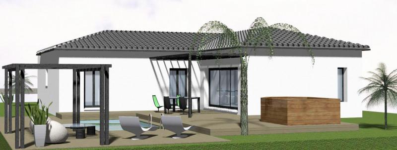 """Modèle de maison  """"Fronton villa 100m²"""" à partir de 4 pièces Haute-Garonne par SAS VILLAS SUD CREATION"""
