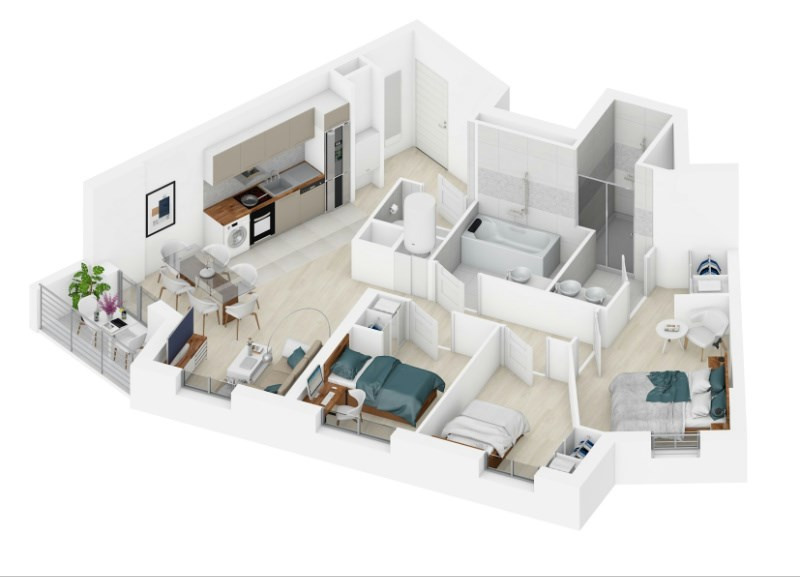 le brie 39 art programme immobilier neuf magny le hongre propos par axone promotion. Black Bedroom Furniture Sets. Home Design Ideas