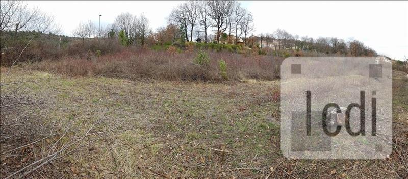 Vente terrain Meysse 464220€ - Photo 1