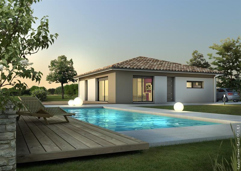 Maison  5 pièces + Terrain 1300 m² Landiras (33720) par MAISONS LCA