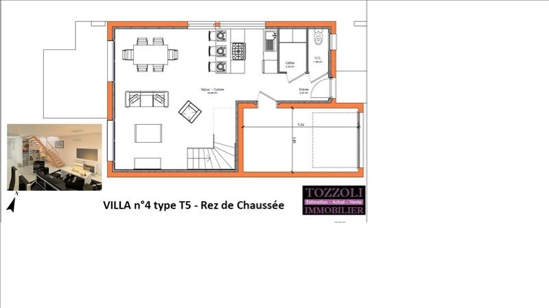 Sale apartment Bourgoin jallieu 194000€ - Picture 1