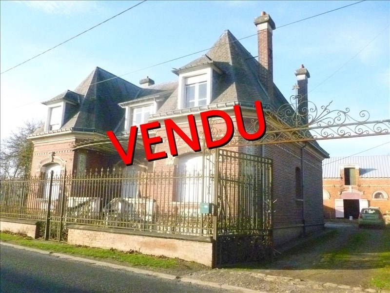 Sale house / villa Peronne 136 000€ - Picture 1
