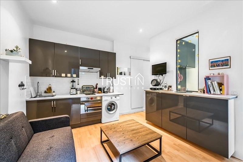 Vente appartement Paris 17ème 275000€ - Photo 1
